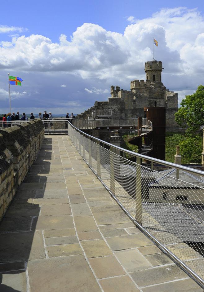 882-01 Lincoln Castle Walls12