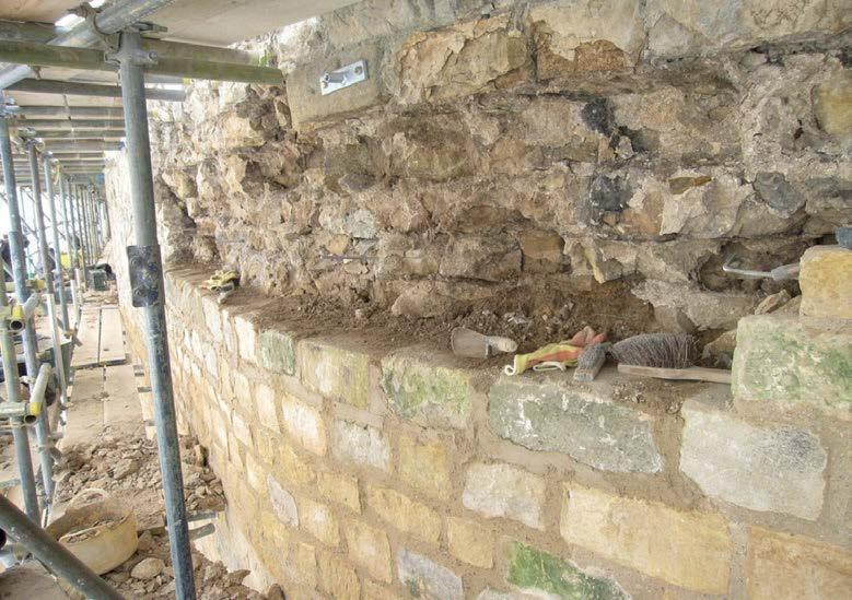 882-01 Lincoln Castle Walls6