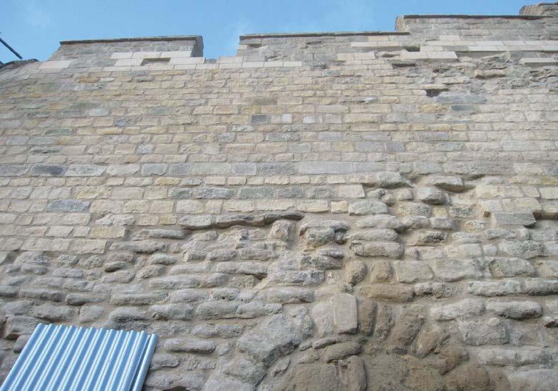882-01 Lincoln Castle Walls8